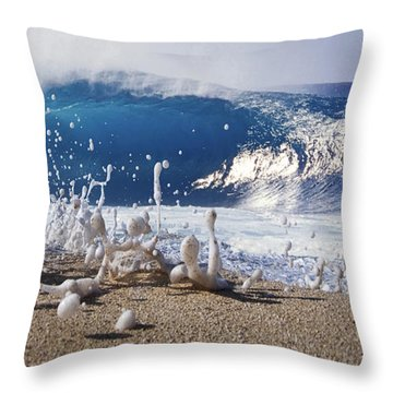 Pipe Foam Throw Pillow