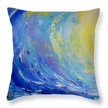 Pipeline Throw Pillow