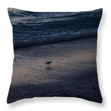 Piper At Dusk Throw Pillow