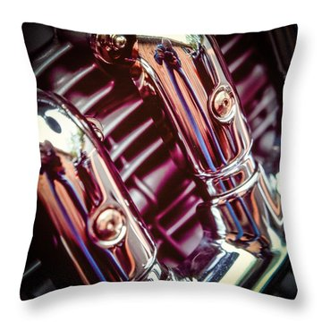 Throw Pillow featuring the photograph Pipes by Samuel M Purvis III