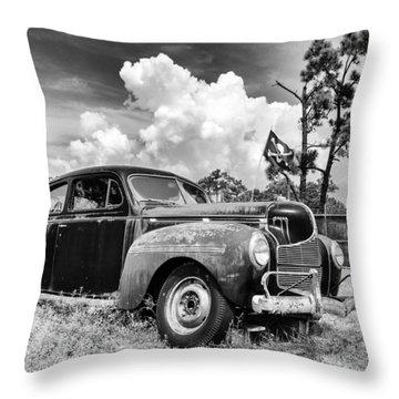Pirate Dodge Throw Pillow