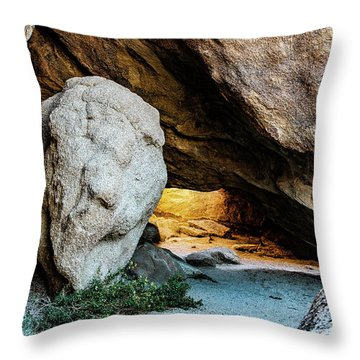 Pirate's Cave Throw Pillow