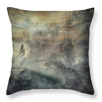 Pirates Cove Throw Pillow
