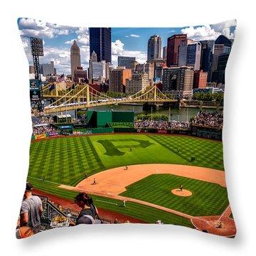 Pirates Day Game Throw Pillow