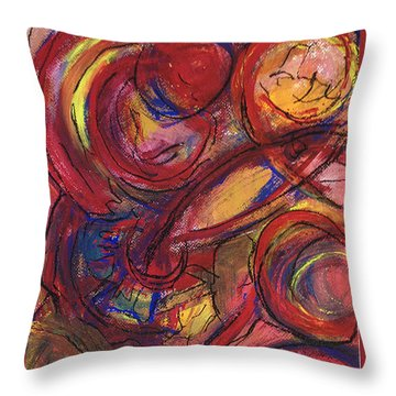 Pisces Symbalic Throw Pillow