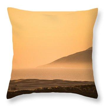 Pismo Sunrise Throw Pillow