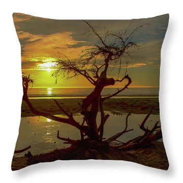 Pismo Sunset Throw Pillow