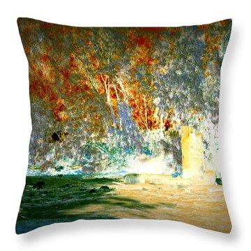 Pissarro's Garden Throw Pillow