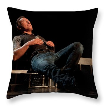 Pit Stop In Pittsburgh Throw Pillow