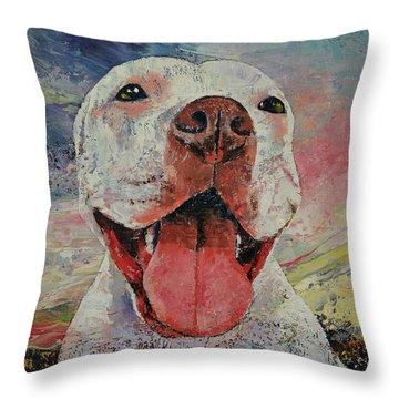 Hund Throw Pillows