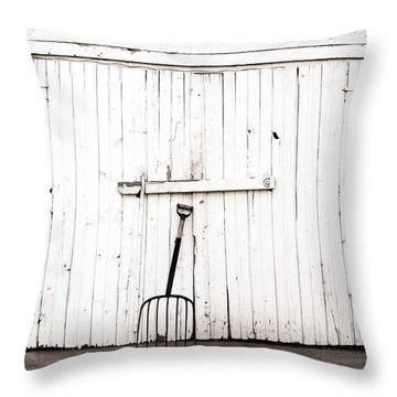 Pitch Fork Throw Pillow
