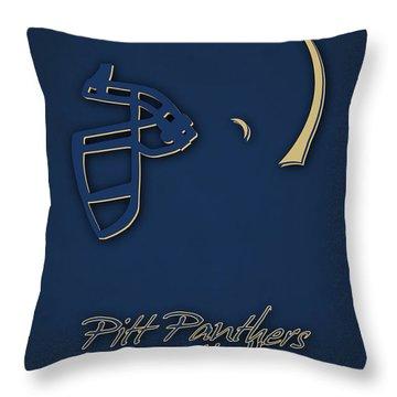 Pitt Panthers Throw Pillow