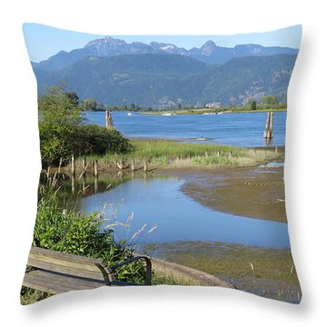 Pitt River Throw Pillow
