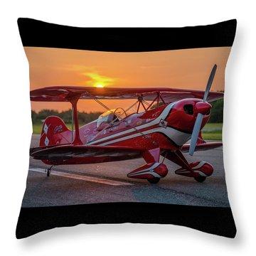 Pitts Sunset Throw Pillow