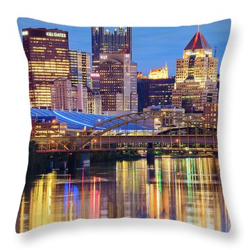 Pittsburgh 2 Throw Pillow