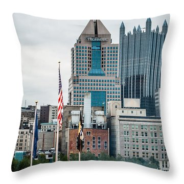 Pittsburgh - 6975 Throw Pillow