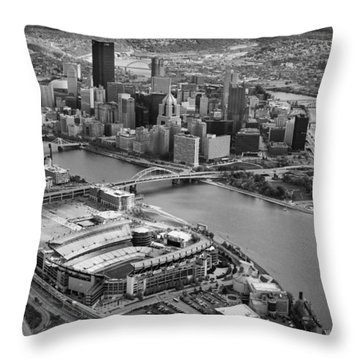 Pittsburgh 9 Throw Pillow