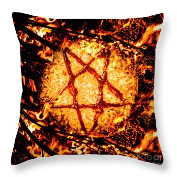 Blazing Star Throw Pillows
