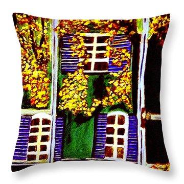 Place De La Paix Throw Pillow
