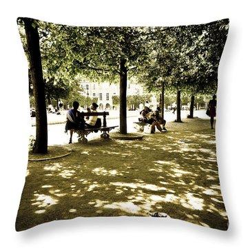 Place De Vosges Throw Pillow