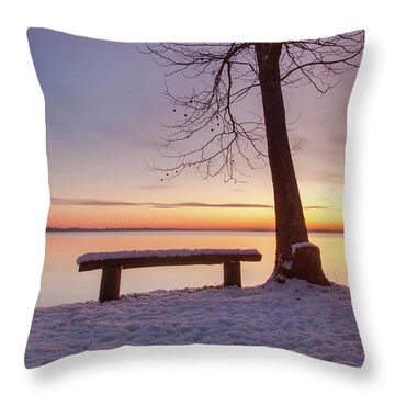 Place For Two Throw Pillow