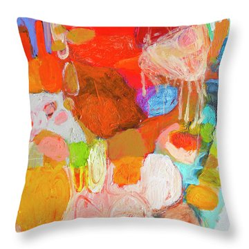 Place In My Art Throw Pillow