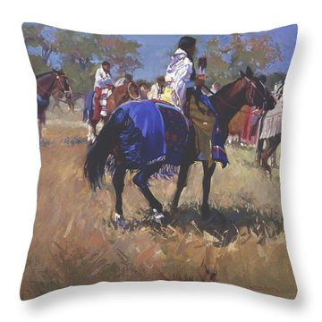 Place Of The Sun L. E. P. Throw Pillow