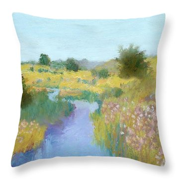Place That Sings II Throw Pillow