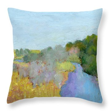 Place That Sings Throw Pillow
