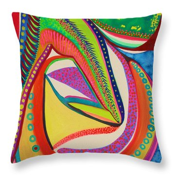 Placebo Throw Pillow