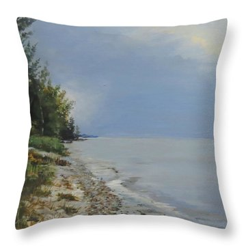 Places We've Been Throw Pillow
