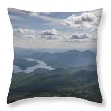 Placid View Throw Pillow