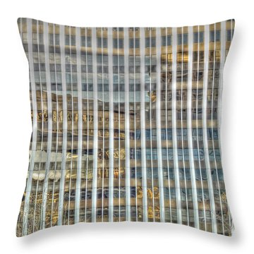 Plaid Light In La Throw Pillow