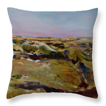 Coulee Evening Throw Pillow