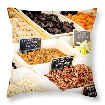 Throw Pillow featuring the photograph Plain Nutty by Jason Smith