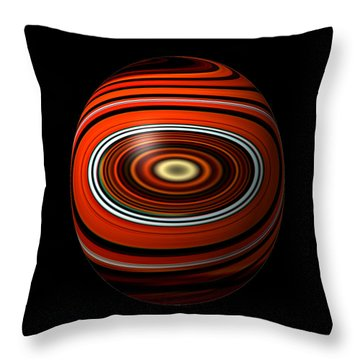 Planet Eye Throw Pillow