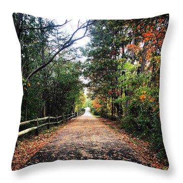Planet Walk Throw Pillow
