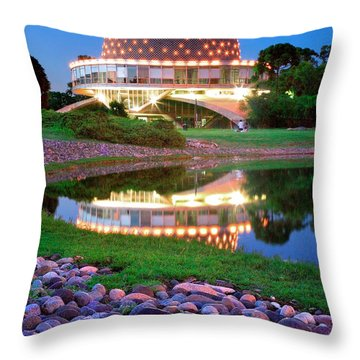 Planetario Throw Pillow