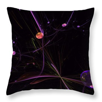 Planets And Space Energies Throw Pillow