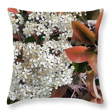 Plant Contrast 2 Throw Pillow