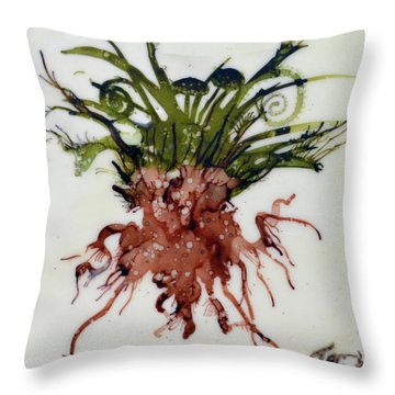 Plant Life 1 Throw Pillow