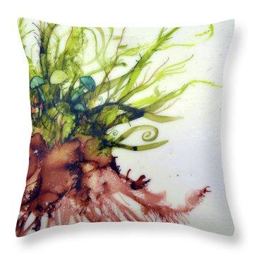 Plant Life #2 Throw Pillow