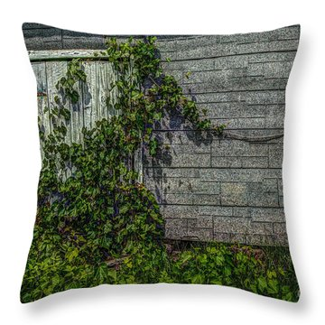 Plant Security Throw Pillow