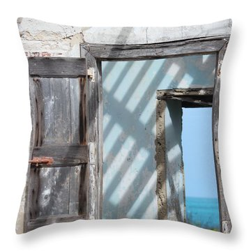 Plantation Quarters Throw Pillow by Jewels Blake Hamrick