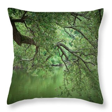 Planted By The Water Throw Pillow