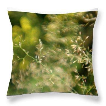 #plasticfantastic #plasticlens #bokeh Throw Pillow