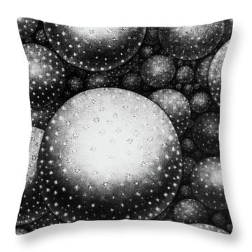 Plate Xxxi From The Original Theory Of The Universe By Thomas Wright  Throw Pillow