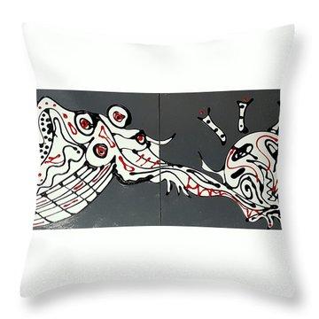 Platescape 2 Throw Pillow