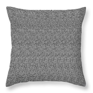Platform Infinite Throw Pillow