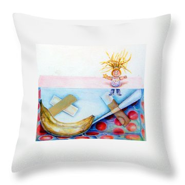 Play Day Throw Pillow
